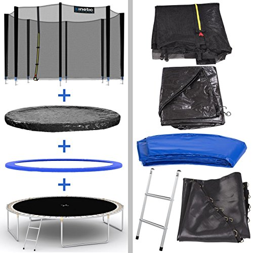 Kinetic Sports Outdoor Gartentrampolin Komplettset - 6