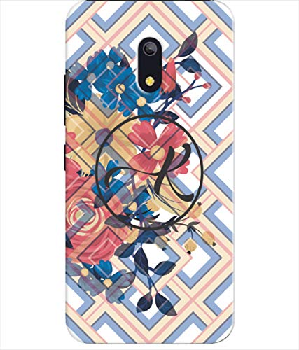 Inktree® Printed Designer Silicon Back Cover for ITEL A23 - Alphabet K