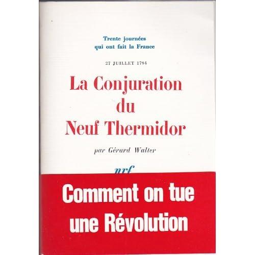 La Conjuration du 9 Thermidor