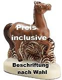 01#071819 Schokoladen Pferd groß 230 gr, Preis incl. Beschriftung, Tiere, Geburtstag, Pony, Geschenke, Geschenk, Reiten,