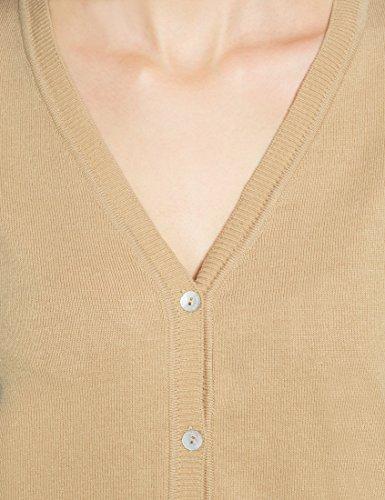 cb2bbb06767e Berydale Gilet boutonné avec col en V pour femme ...