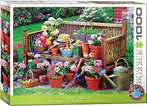 Eurographics 6000-5345 - Puzzle de 1000 Piezas, diseño de Banco de jardín