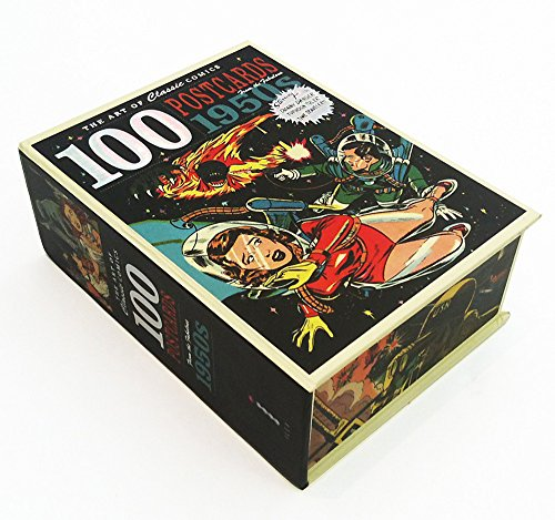 The Art of Classic Comics: 100 Postcards from the Fabulous 1950s - Kunst London-themed