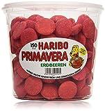 Haribo Primavera Erdbeeren, 1.05 kg Dose