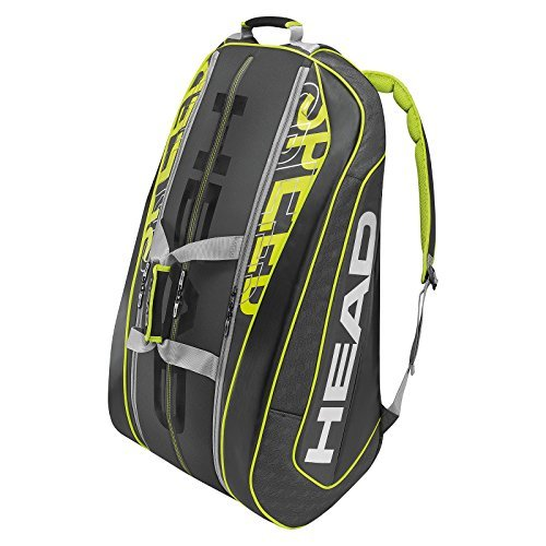 HEAD Speed LTD Monster Combi Schläger-Tasche, Grün, 340 g