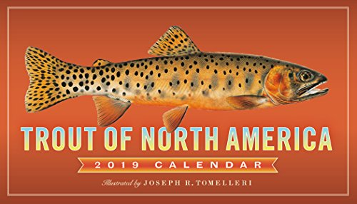 2019 Trout of North America Wall