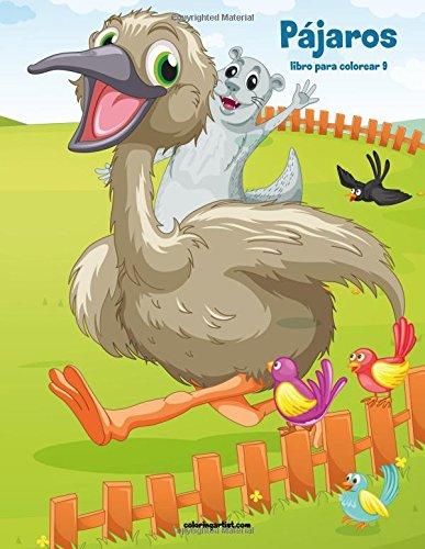 Pájaros libro para colorear 9: Volume 9 por Nick Snels