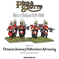 Warlord Games Ottoman Janissary Halberdiers Advancing Figures