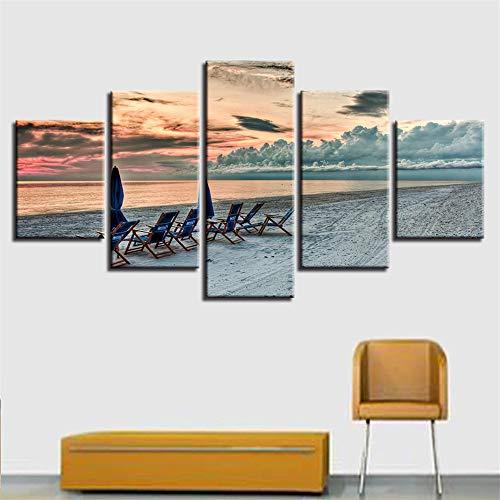 Malerei,Einfache Multi-Mural Inkjet Strand Rock meerblick Zimmer Hause kreative Handwerk malerei 15 malerei Kern 30x40cmx2 30x60cmx2 30x80cmx1 ()