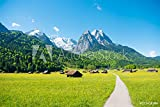 druck-shop24 Wunschmotiv: Mountain Panorama in Front of