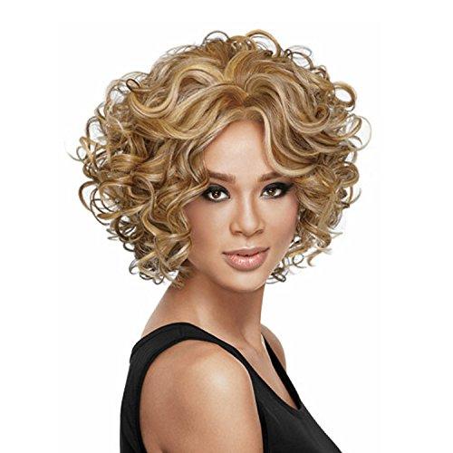 P. gilormini explosif Européens et Américains Vogue fashion Brownperformance,perruque de lumière naturelle, de réalisme, de coiffure, de coiffure et salon de parti, Cosply