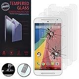 HCN PHONE Lot 3 Films Verre Trempé de protection d'écran pour Motorola Moto G 4G...