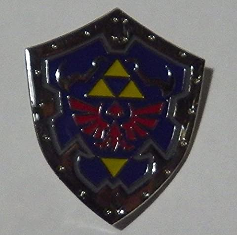 Legend of Zelda Shield Collection Pin Badge~Ocarina of Time