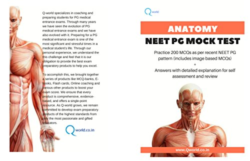Anatomy NEET PG Mock Test: Practice 200 MCQs as per recent NEET PG ...