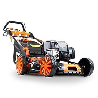 """P1PE P5100SPBS 173cc Self Propelled 4-stroke Petrol Lawnmower 51cm cutting width"""