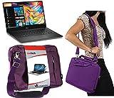 Navitech Lila Prime Case / Cover Trage Tasche für das Dell Latitude 12 Rugged Extreme