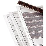 Hama 100 feuilles de 7 bandes de 6 négatifs 35 mm en papier cristal 00002251