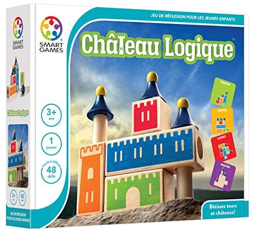 Smartgames-SG 030FR-Château Logique-Logik-Spiel (Bedienungsanleitung auf französischer Sprache) Block Chateau