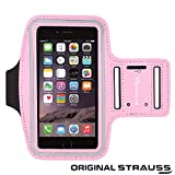Strauss Sports Mobile Arm Band, (Pink)