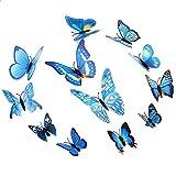 Materiale: PVC, realizzata in plastica resistente con colori brillanti. Stile Farfalle, puoi pin la farfalla sul tende tenda e ect, bella e generosa. 12Pz farfalle, pacchetto include 2grandi farfalle in misura 12farfalle, 2medi, taglia 10, e 4fa...