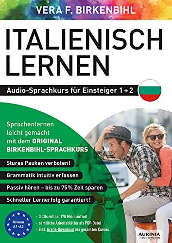 Italienisch lernen für Einsteiger 1+2 (ORIGINAL BIRKENBIHL): Audio-Sprachkurs auf 3 CDs inkl. Download