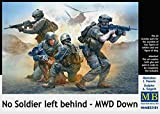 Master Box Ltd MB35181 - Figuren No Soldier left behind, MWD Down