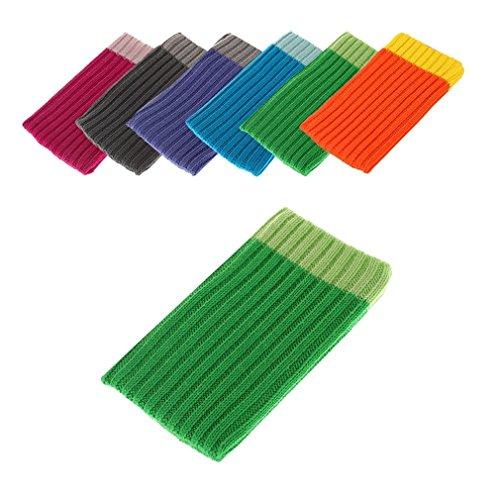 BRALEXX Universal Textil Socke passend für Ulefone Paris Arc HD, Grün