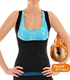 LaLaAreal Faja Reductora Adelgazante Abdominal Mujer Camiseta Sauna Chaleco Neopreno Comprecion para Fitness Postparto