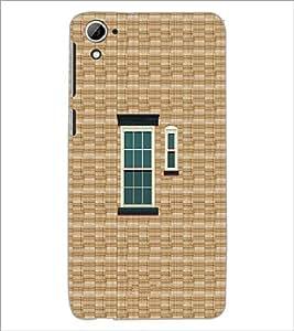 PrintDhaba Window Design D-3222 Back Case Cover for HTC DESIRE 826 (Multi-Coloured)