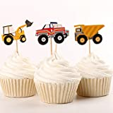 Fumee 24Cupcake Toppers niños favoriat fruta Púas para decorar tartas para Party Supplies