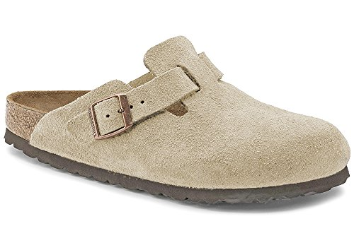 Birkenstock Boston, Sabots Mixte Adulte taupe (060463)