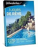 Wonderbox - Coffret cadeau Couple - 3 JOURS DE RÊVE - 2270 Séjours dépaysants en hôtels 3* et 4* étoiles, manoirs, châteaux, ferme rénovée, tipis en France ou en Europe