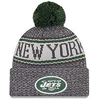 promo code 039a0 ab5aa New Era NFL New York Jets 2018 Sideline Graphite Sport Knit