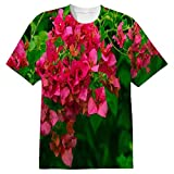 Snoogg Colorful Tree Mens Casual All Over Printed T Shirts Tees