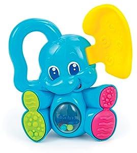 Baby Clementoni- Sonajero mordedor Elefante (149988)
