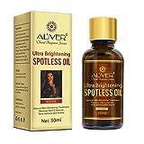 Natürliches, Ultra Aufhellendes, Fleckenloses Öl, Rose Essential Skin Whitening Serum - Natürliche Und Organische Haut Erholen Sich Gegen Narben, Flecken Und Alterungszeichen