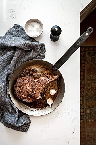DeBuyer Steakpfanne, Edelstahl, Silber, 28 cm