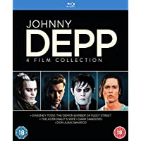 Johnny Depp Collection Very Limited Release Blu-ray