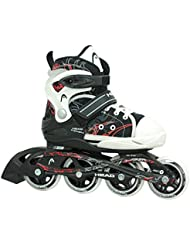 HEAD Kinder Inlineskates Kid, 6-fach verstellbar, ABEC 5 Kugellager