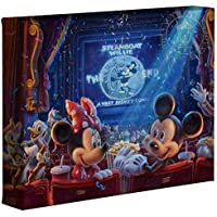 0a2d5149dc7 Thomas Kinkade Studios Disney s 90 Years of Mickey 8 x 10 Gallery Wrapped  Canvas