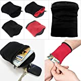 #10: CadetBlue Wrist Wallet Pouch Band for Cycling,Running,Gymming,etc.[SF068]