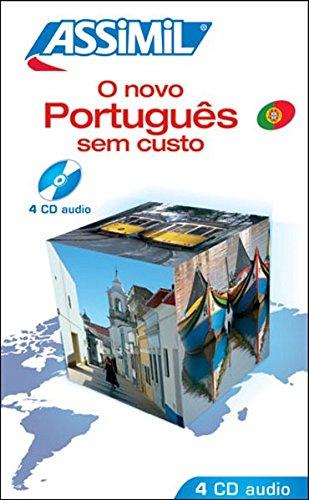 O Novo Português Sem Custo ; Enregistrements CD Audio (x4)
