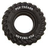 Tyker - Hundespielzeug TRP Reifen - Hunde Kauspielzeug mit Zahnreinigung - Schwarz