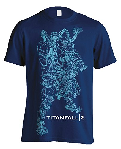 Titanfall 2 T-Shirt Titan BT Line Art Merchandise shirts