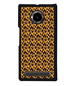 Fuson Abstract Floral Designer Back Case Cover for YU Yuphoria :: YU Yuphoria YU5010 (Abstact Art Paint Painting Illustrations)