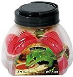 REPTILES PLANET Nourriture lézards Vita Jelly Rouge Fruit Lizard 10 Pièces