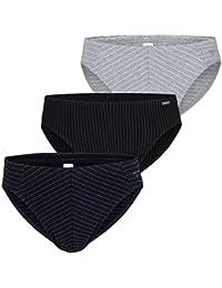 02c28a68b2da AMMANN ® 3er Pack Slips ohne Eingriff, Unterhosen, Unterwäsche, Mini Slips,  ...