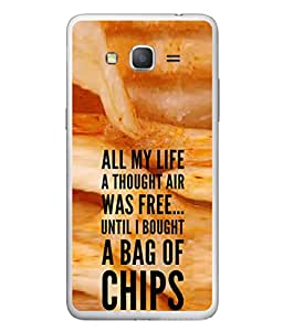 PrintVisa Designer Back Case Cover for Samsung Galaxy Grand Neo (my life related english quotes )