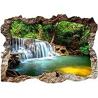 Türtapete Türposter Türfolie Wasserfall Bäume Wald Thailand See Meer no 67