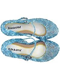 ELSA & ANNA® - Ballerines Princesse Reine de Neiges - Bleu